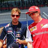 """Räikkönen sobre Vettel en Ferrari: """"Estaría bien si pudiera venir, pero yo no sé nada"""""""