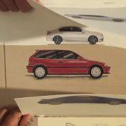 El vídeo de papel con el que Honda nos cuenta su historia -SoyMOtor