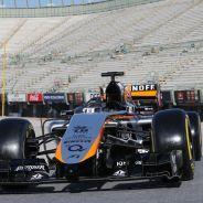 El VJM08 llegará a Barcelona la última semana de tests - LaF1.es