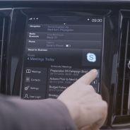 Volvo incorpora Skype en su pantalla central - SoyMotor