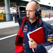 Adrian Newey en el pasado Gran Premio de Italia de 2013 - LaF1