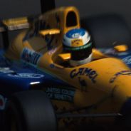Michael Schumacher en el GP de Italia de 1991
