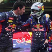 Webber y Vettel en 2013 - LaF1.es