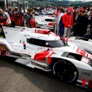 El Audi de Fässler, Lotterer y Tréluyer antes de la salida - LaF1