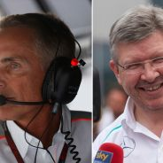 Martin Whitmarsh y Ross Brawn - LaF1