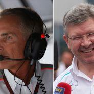 Martin Whitmarsh y Ross Brawn - LaF1