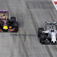Williams espera otro duro desafío por parte de Red Bull en 2016 - LaF1