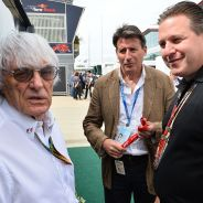 Bernie Ecclestone con Zak Brown - LaF1