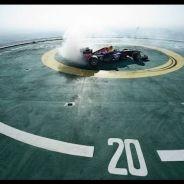 'Donuts' de celebración a 210 metros