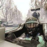 Así celebró Mercedes su campeonato del mundo