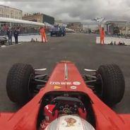 Onboard - Kamui Kobayashi en el Moscow City Racing