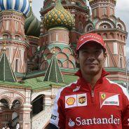 Kamui Kobayashi descubre Moscú