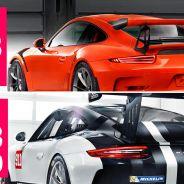 Porsche 911 GT3 RS vs. 911 GT3 Cup en Nurburgring Nordschleife