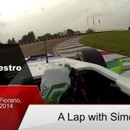 Vuelta a Fiorano con Simona de Silvestro y el C31
