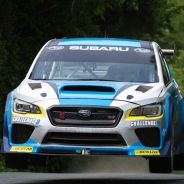 Record Mark Higgins Subaru WRX STI Isla de Man