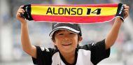 Aficionado de Fernando Alonso en Suzuka - SoyMotor.com