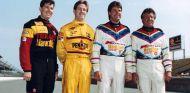 Los cuatro miembros de la familia Andretti en 1991 - SoyMotor.com