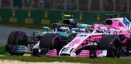 Esteban Ocon y Valtteri Bottas en Australia - SoyMotor.com