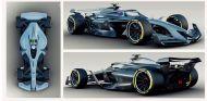 Coche conceptual de 2021, diseñado por la Fórmula 1 - SoyMotor