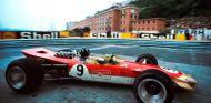 Graham Hill con el Lotus Ford 49B en el GP de Mónaco de 1968 - SoyMotor.com