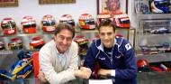 La firma del acuerdo para correr la Eurofórmula Open en 2014 - SoyMotor.com