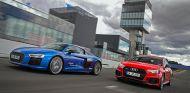 Audi R8 V10 Plus y RS4 en la Sportscar Driving Experience en el Jarama - SoyMotor.com