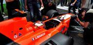 Jules Bianchi en la parrilla de Montmeló - LaF1