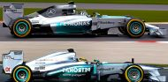 Mercedes W05: Un vistazo técnico