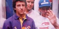 David Bosch junto a Ayrton Senna en el GP de España 1993