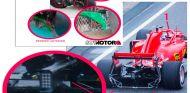Técnica: las novedades y pruebas de la parrilla en el día 1 de la pretemporada de F1 - SoyMotor.com