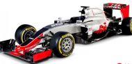 Haas estrena su primer monoplaza de F1 - LaF1