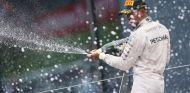 Lewis Hamilton en el podio del Red Bull Ring - LaF1