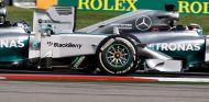 Lewis Hamilton y Nico Rosberg en Austin - LaF1