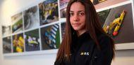 Marta García en Enstone, sede de Renault - SoyMotor