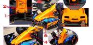 TÉCNICA: Las novedades del GP de España F1 2018
