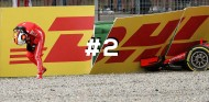 Sebastian Vettel tras su accidente en el GP de Alemania - SoyMotor
