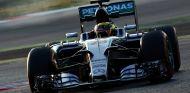 Pascal Wehrlein a los mandos del Mercedes, hoy en Montmeló - LaF1
