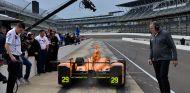 Alonso en su debut en Indianápolis, 3 de mayo - SoyMotor