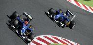 Felipe Nasr y Ericsson en Montmeló - LaF1.es
