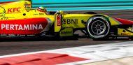Alex Palou en el test GP2 de Abu Dabi - LaF1