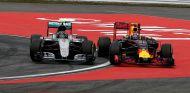 Nico Rosberg y Max Verstappen luchan en Hockenheim - LaF1