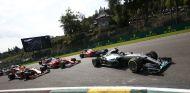 La carrera estuvo marcada por la salida y la bandera roja - LaF1