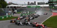 Ésta fue la salida del Gran Premio - LaF1