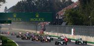 Imagen de la salida de la carrera del GP de México - LaF1