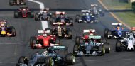 La salida del Gran Premio de Australia de 2015 - LaF1