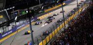 La salida del Gran Premio fue accidentada - LaF1