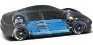 El Taycan cuenta con baterías de iones de litio con una capacidad de 93,4 kilovatios hora - SoyMotor.com