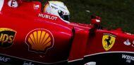 Sebastian Vettel con el SF15-T en Shanghái - LaF1