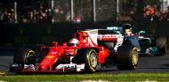 Vettel y Hamilton en el GP de Australia - SoyMotor