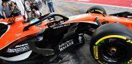 Alonso probando el halo en Monza - SoyMotor.com